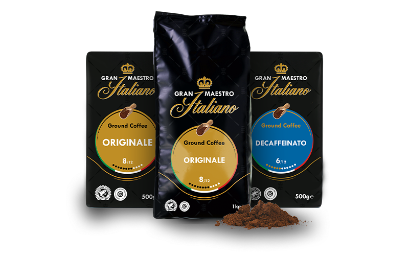 Gran Maestro Italiano - Ground coffee